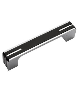 Мебельная ручка RS267CP/BL.4/160