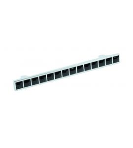 Мебельная ручка RS420CP/CrBl.4/128