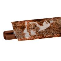 Плинтус Шоколадный опал 3000х23х23 мм  LB-231-6076