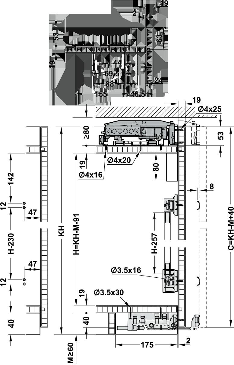 метабокс простой схема монтажа